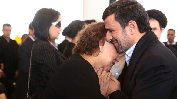 Mahmoud Ahmadinejad, Elena Frias