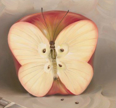 Apple-butterfly