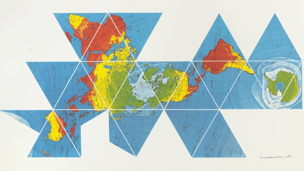Dymaxion World Map Cultural Detective Blog