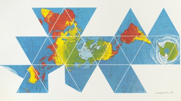 Fuller's Dymaxion Map