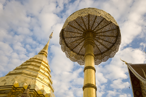 Doi Suthep Temple, Horizontal Image (500x332)