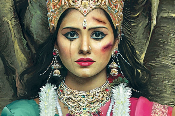 Durga: domestic violence goddess