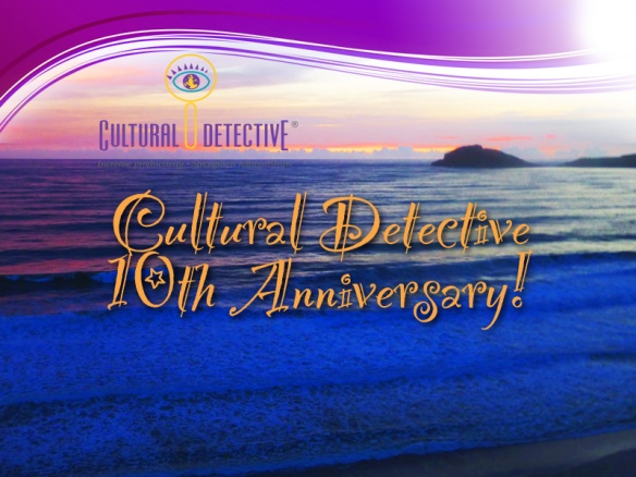 Cultural Detective 10th Anniversary