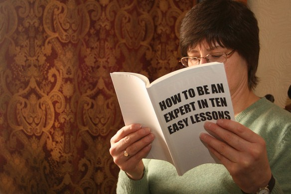 How to be an expert in ten easy lessons