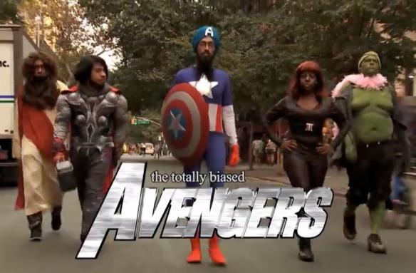 totally biased avengers