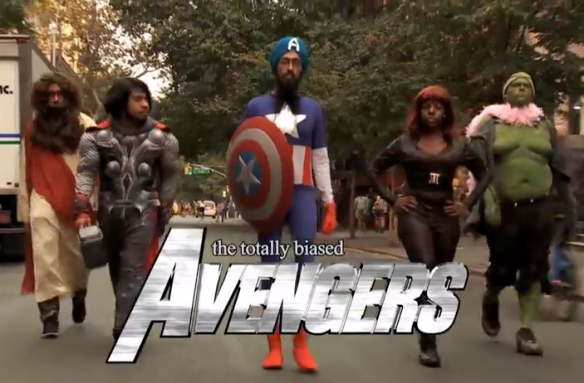 totally biased avengers