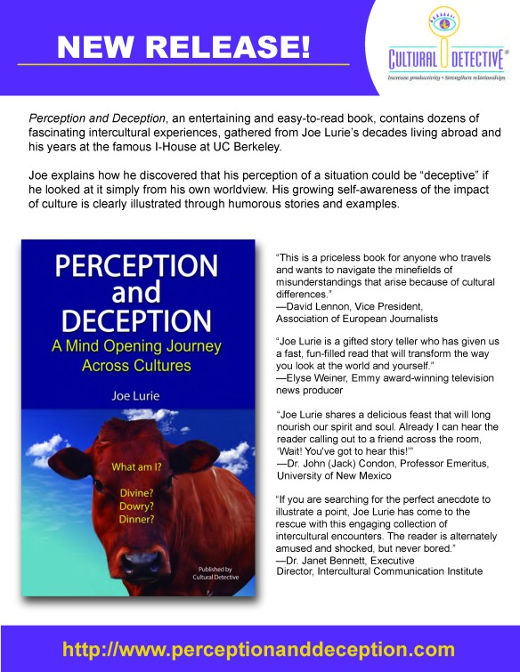 Perception Deception Flyer White