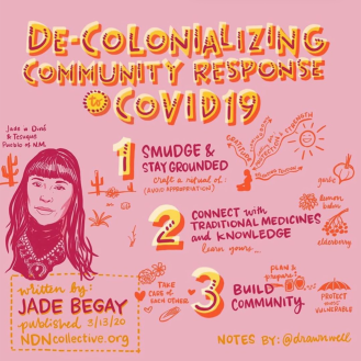 Response to COVID from a Diné/Navajo community member